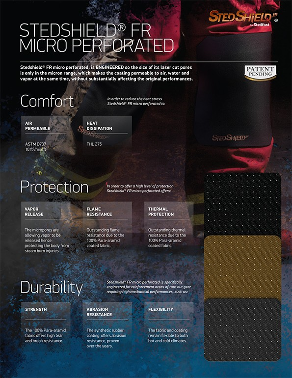 Stedshield® FR MICRO PERFORATED brochure